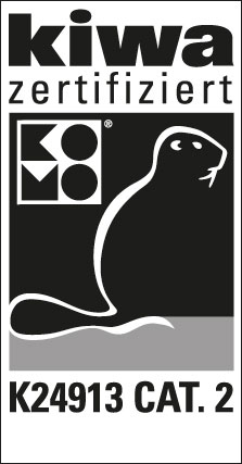 kiwa zertifiziert