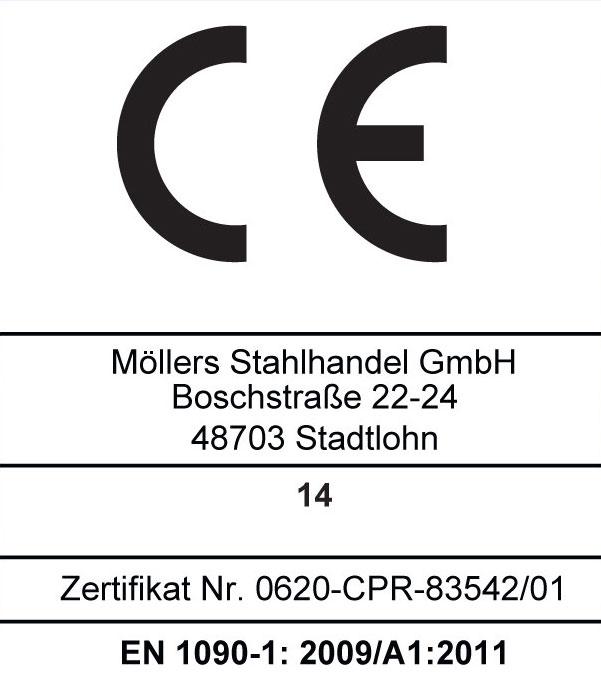 CE Logo Schweißen