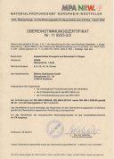 Zertifikat MPA NRW.